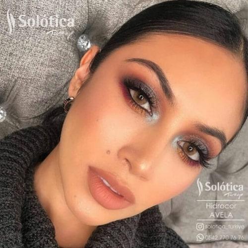 Buy Solotica Avela Hidrocor Collection Eye Contact Lenses In Pakistan at Solotica.pk